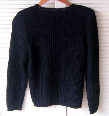 cheap for discount 3d50d 8dd94 Schwarzer Damen Pullover aus Alpakawolle